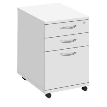 pedestals - Titan Furniture Direct - Fraction Plus High Mobile Pedestal