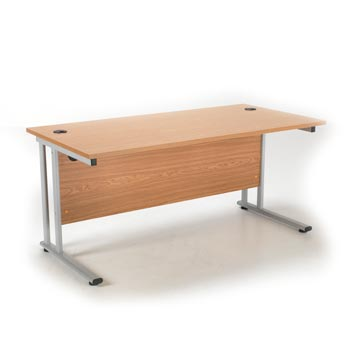 teachers desk - Titan Furniture Direct - 1600 Rectangular Cantilever Workstation